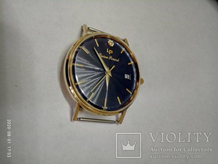 Швейцарские золотые часы Lucien piccard с бриллиантом, фото №10