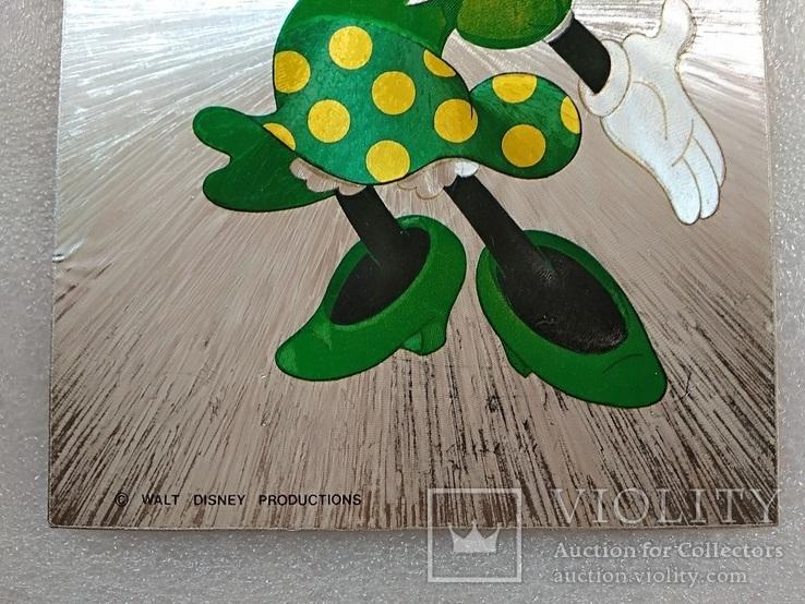 Уолт Дисней/Walt Disney Company. Минни Маус подружка Ми́кки Ма́уса.Необычная-фольга., фото №5