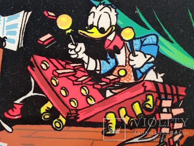 Уолт Дисней/Walt Disney Company.Скрудж Макдак «Утиные истории» Бархатное покрытие.Тиснение, фото №3