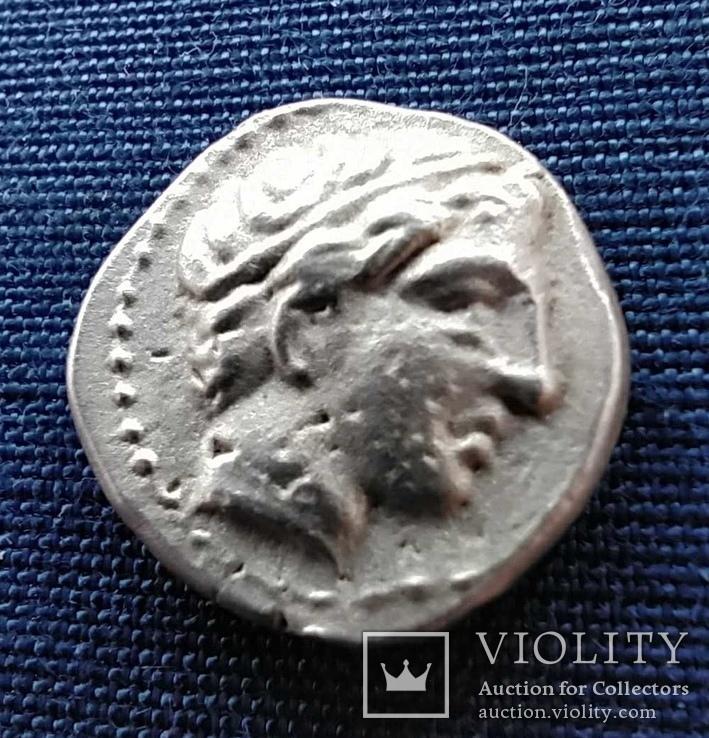 Македония 1/5 тетрадрахмы, Филипп II.325-315г.д.н.э.