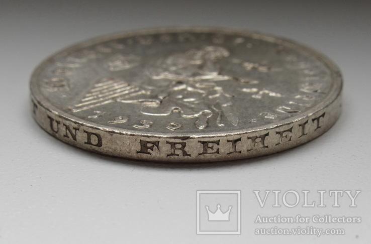 """3 марки 1930 г. (G) Веймарская республика """"Вальтер фон дер Фогельвейде"""", серебро, фото №13"""