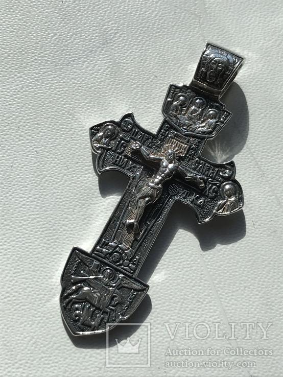 Серебряный крестик, фото №2