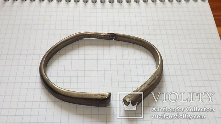 Серебренный браслет 8- 9 века