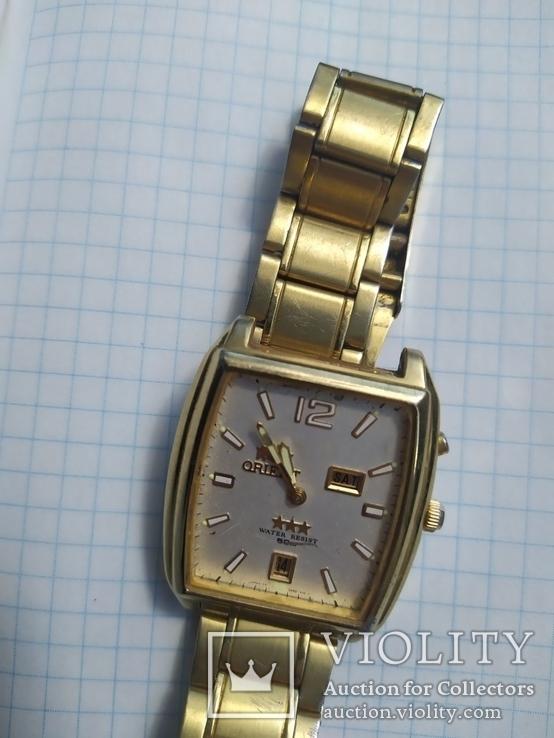 Наручные часы Ориент с календарем, фото №3