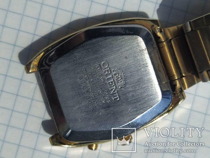 Наручные часы Ориент с календарем, фото №6
