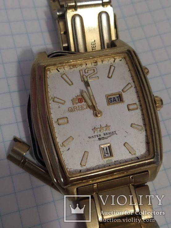 Наручные часы Ориент с календарем, фото №12