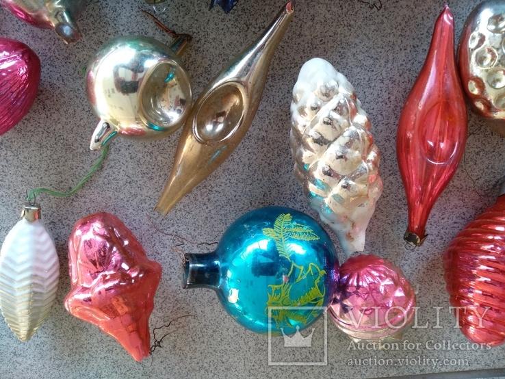 Игрушки ёлочные 31 шт, фото №5