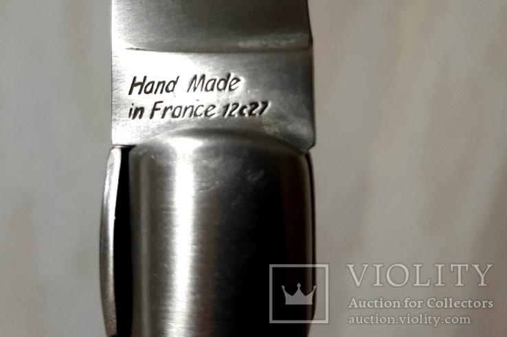 Нож Gille Zuria Франция ручная работа, фото №6