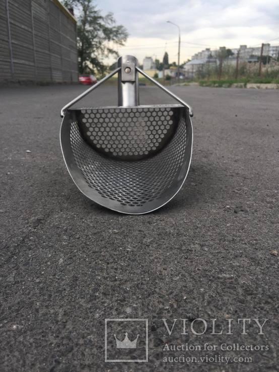Скуп (скуб) нержавейка 1,5мм, фото №4