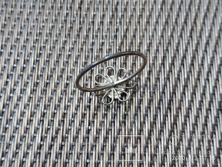 Колечко цветок, фото №3