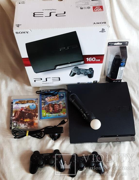 Playstation 3 PS3 500Gb Комплект Все рабочее, фото №3