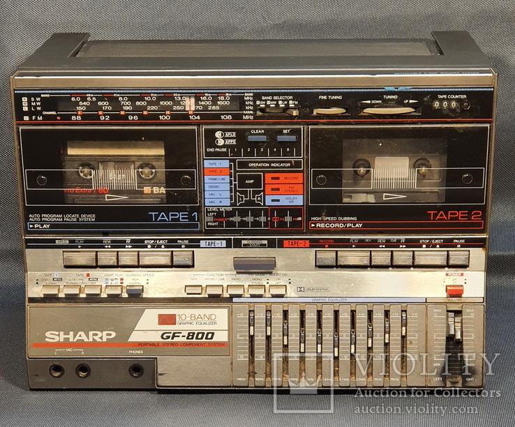 Магнитофон Sharp GF-800 Made in Japan, фото №2