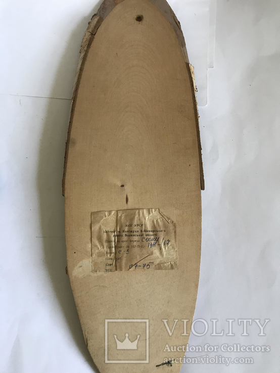 Сувениры кружка, рог и плакет на срезе березы, фото №8