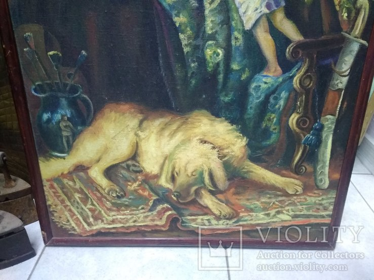 Катина Константина Маковского 88х65 см . ( Копия ), фото №6