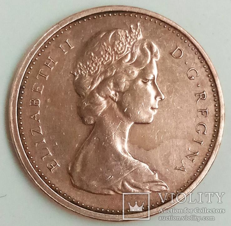 1 цент 1973 г. Канада, фото №3