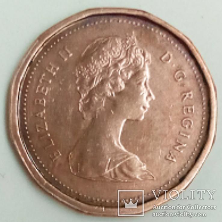 1 цент 1983 г. Канада, фото №3