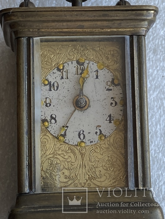 Часы каретные старинные, фото №6