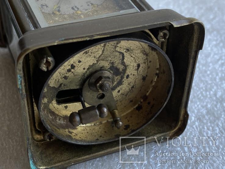 Часы каретные старинные, фото №7