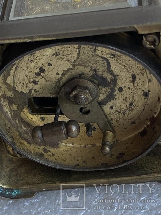 Часы каретные старинные, фото №8
