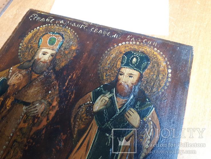 Икона святых Харлампия и Власия, фото №4