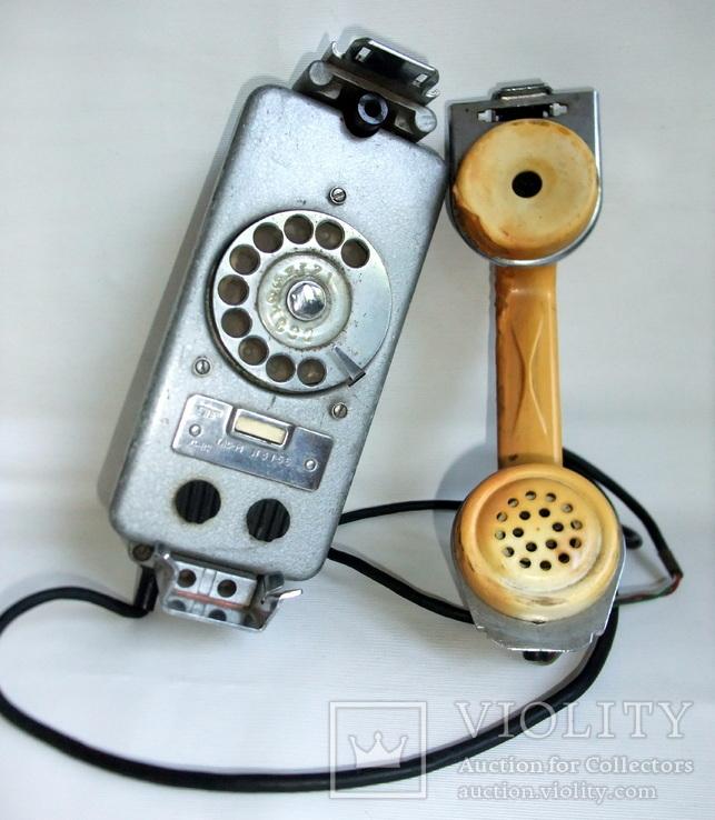 Телефон корабельный судовой ТАС-М. Телефонный пост на судне., фото №2