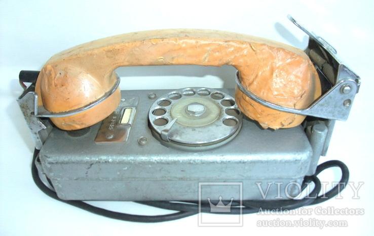 Телефон корабельный судовой ТАС-М. Телефонный пост на судне., фото №6