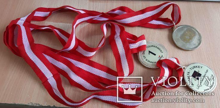 Спортивные медали, кол. 3 шт., фото №8
