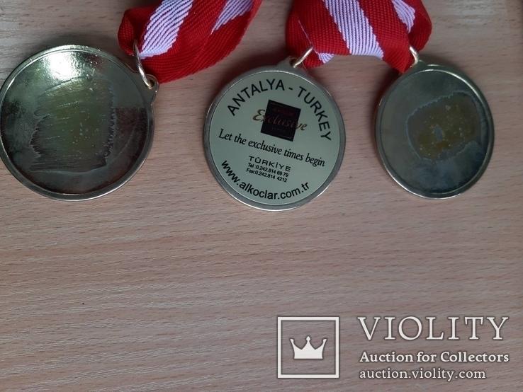 Спортивные медали, кол. 3 шт., фото №9