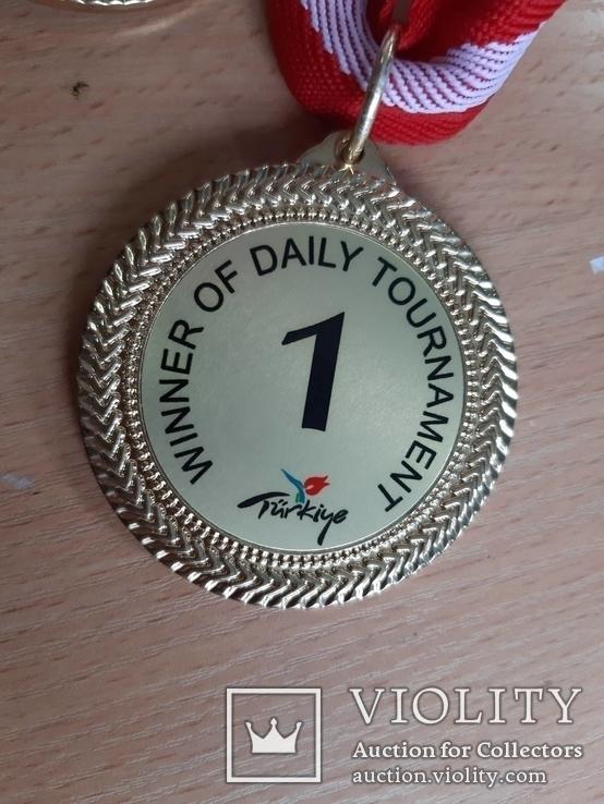 Спортивные медали, кол. 3 шт., фото №10
