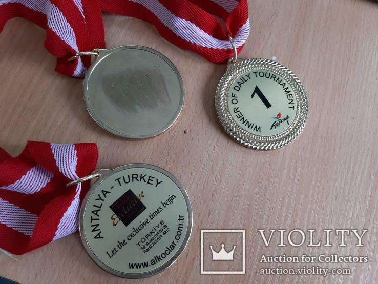 Спортивные медали, кол. 3 шт., фото №11