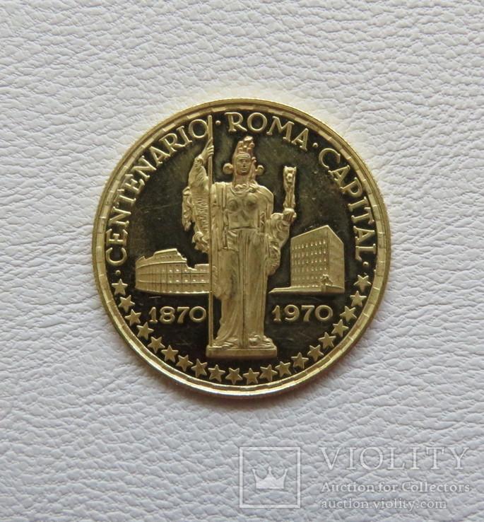 Экваториальная Гвинея 1970 год 750 песет 10,48 грамм 900`, фото №3