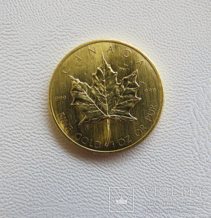 Канада 50$ 1980 год 1 унция золота 999`, фото №3