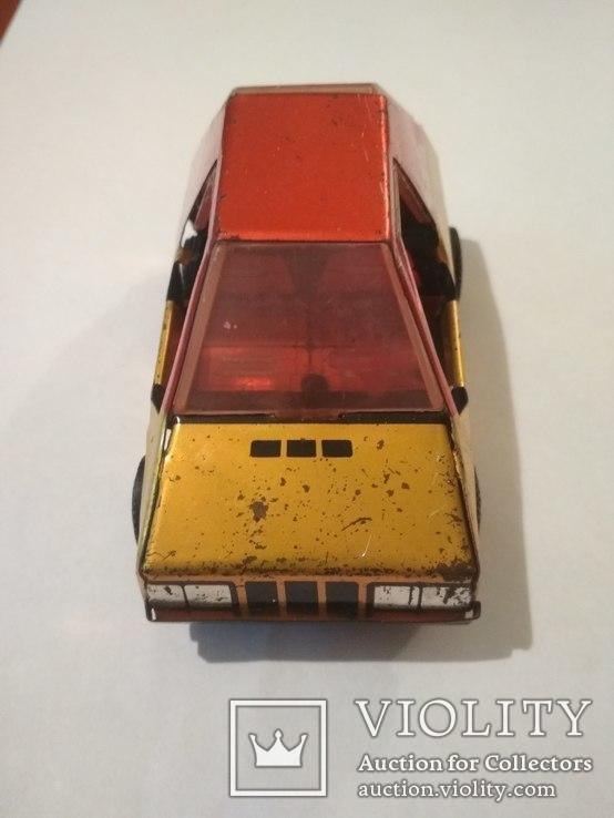 Металическая машинка СССР, клеймо, фото №2