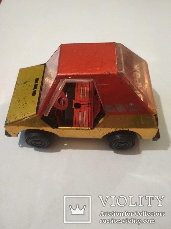 Металическая машинка СССР, клеймо, фото №3