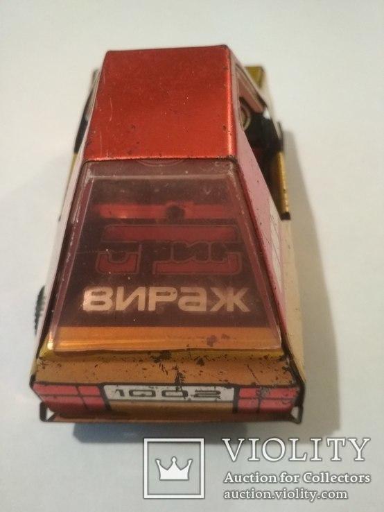 Металическая машинка СССР, клеймо, фото №4