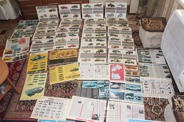 """Самодельные плакаты (39 штук. формат А-3(30х40) с журнала """" За рулем"""", фото №3"""