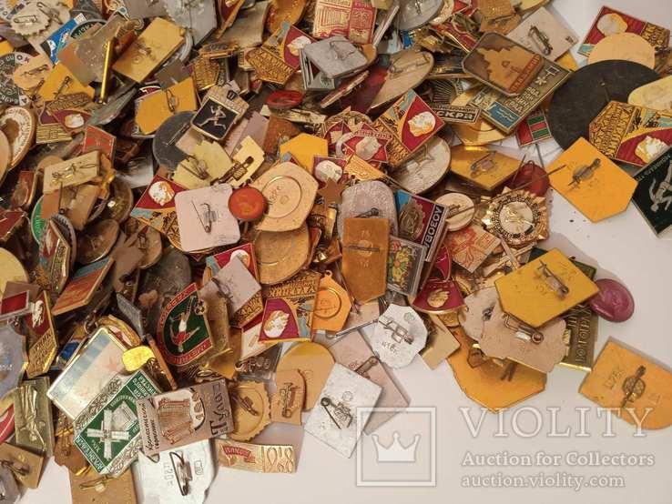 Значки СССР 700штук, фото №3