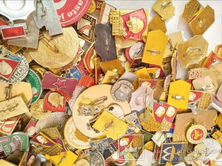 Значки СССР 700штук, фото №4