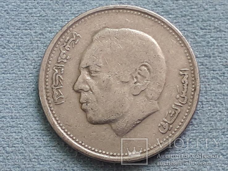 Марокко 1 дирхам 1987 года, фото №3