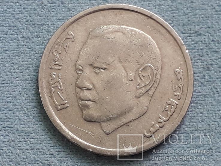 Марокко 1 дирхам 2002 года, фото №3