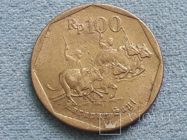 Индонезия 100 рупий 1995 года, фото №2