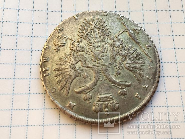 1 рубль 1731 года см. видеообзор, фото №4