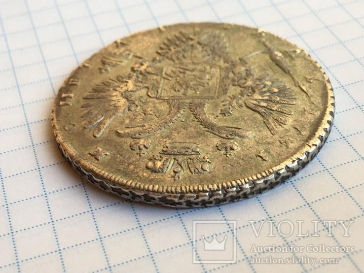 1 рубль 1731 года см. видеообзор, фото №10