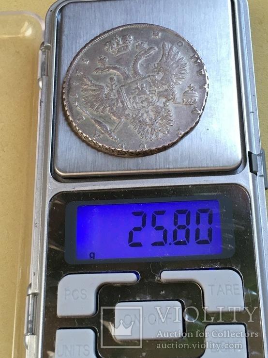 1 рубль 1731 года см. видеообзор, фото №12