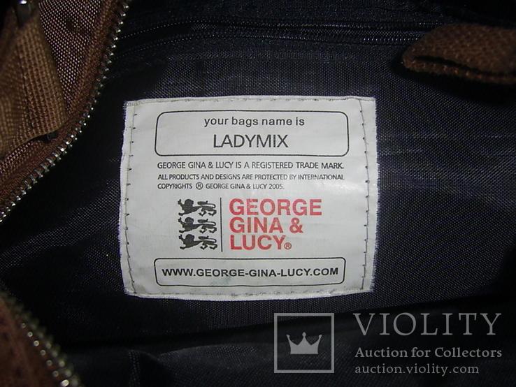 Сумка брендовая George Gina & Lucy новая Германия, фото №10