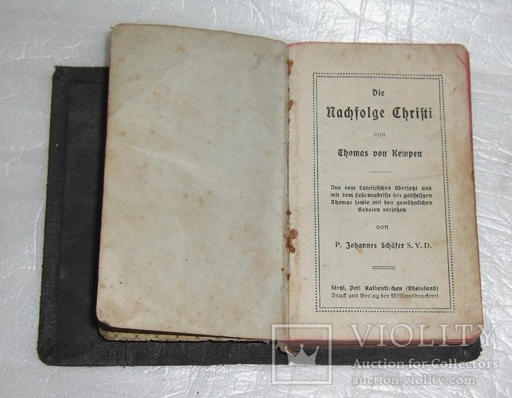 Католическая библия. 1920г, фото №4
