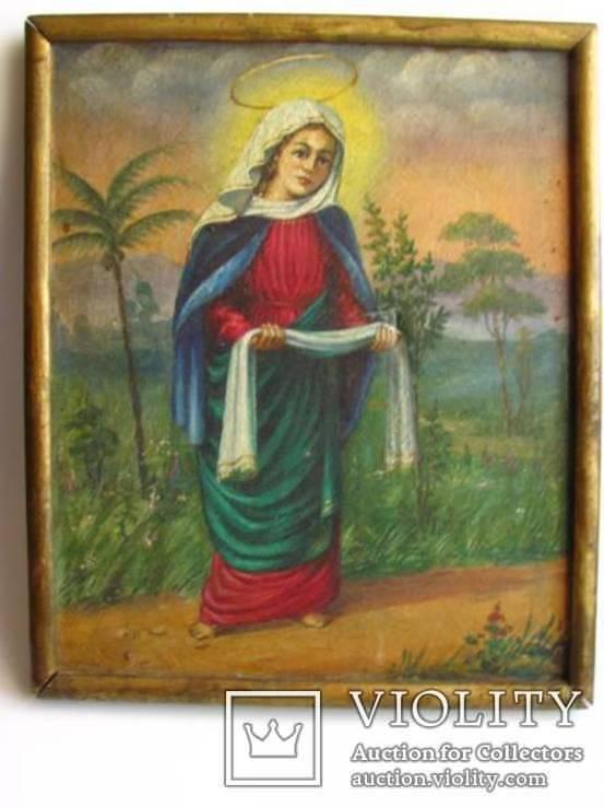 Икона на холсте Покров Пресвятой Богородицы, фото №2