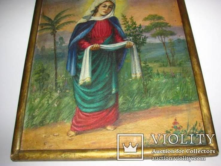 Икона на холсте Покров Пресвятой Богородицы, фото №6