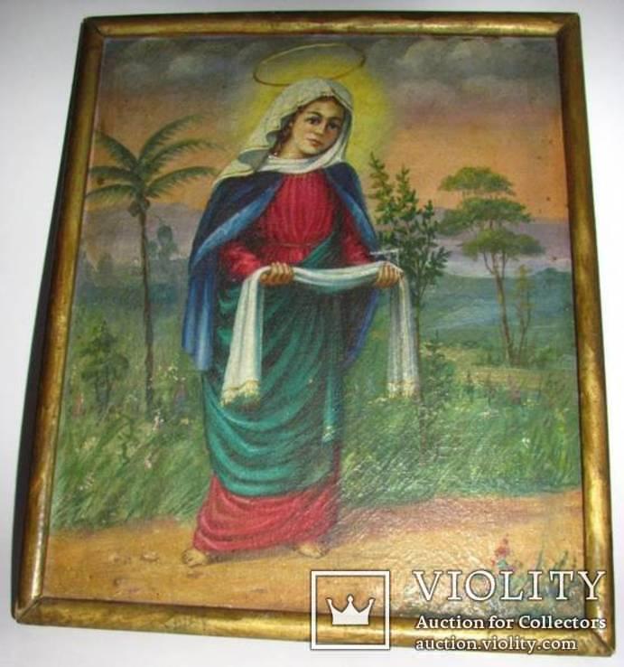 Икона на холсте Покров Пресвятой Богородицы, фото №7