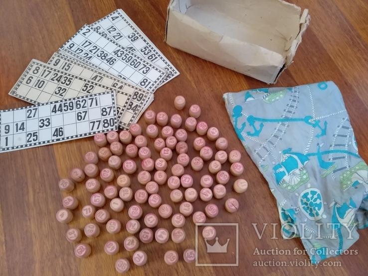 Игра лото деревянное ссср 70 года, фото №2